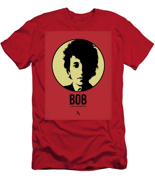 Bob Poster 1 Men's T-Shirt (Slim Fit) by Naxart Studio