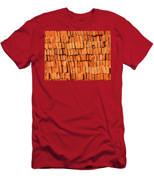 Brick Stack Men's T-Shirt (Athletic Fit)