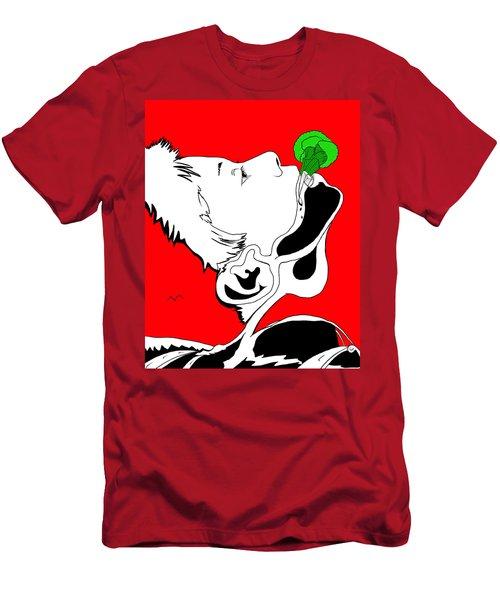 Brocolas Men's T-Shirt (Athletic Fit)