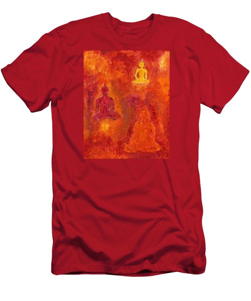 Buddhas Of Compassion Men's T-Shirt (Athletic Fit)