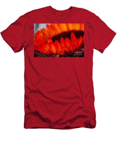 Men's T-Shirt (Slim Fit) featuring the photograph Burning Ring Of Fire 2 by John S
