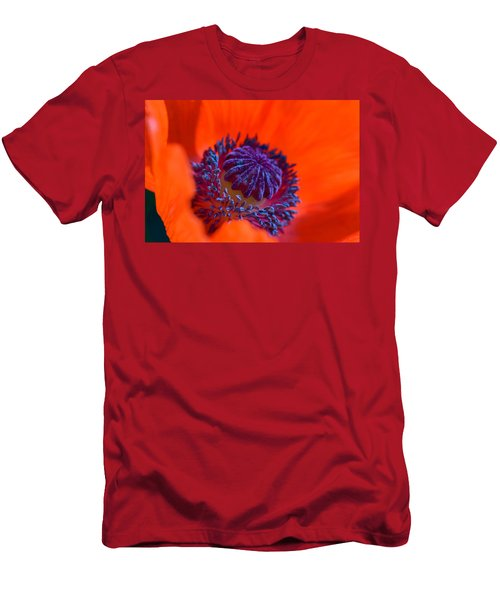 Men's T-Shirt (Athletic Fit) featuring the photograph Bursting With Colour by Garvin Hunter