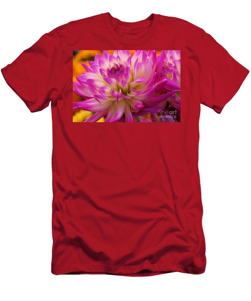Men's T-Shirt (Slim Fit) featuring the photograph Bursting With Color by John S
