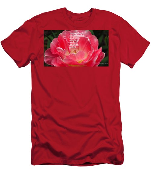 But A Woman Men's T-Shirt (Slim Fit) by Terry Wallace