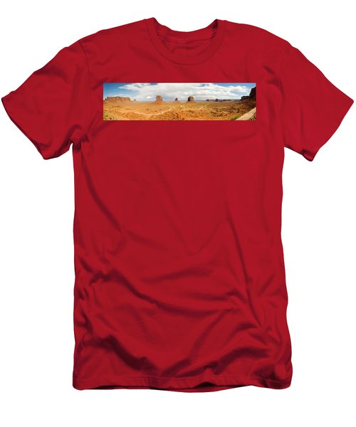 Buttes In A Desert, The Mittens Men's T-Shirt (Athletic Fit)