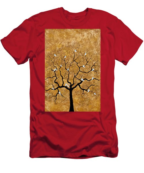 By The Tree Men's T-Shirt (Athletic Fit)