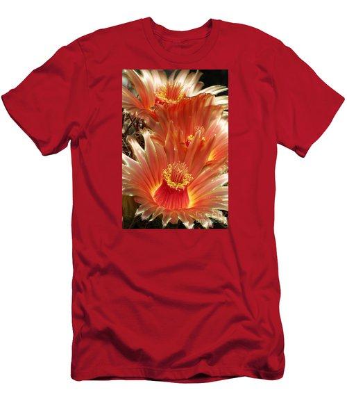 Cactus Blossoms Men's T-Shirt (Athletic Fit)