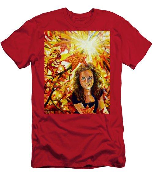 Canadian Autumn Men's T-Shirt (Athletic Fit)