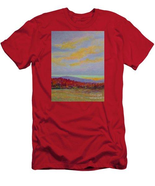 Carolina Autumn Sunset Men's T-Shirt (Athletic Fit)