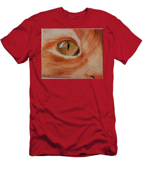 Cat's Eye Men's T-Shirt (Athletic Fit)