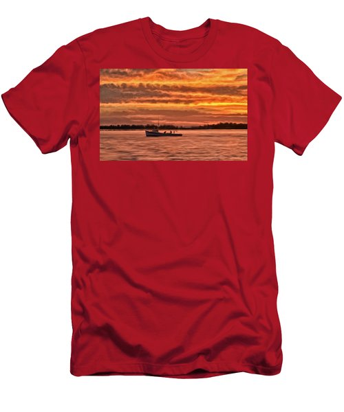 Chesapeake Watermen Men's T-Shirt (Athletic Fit)