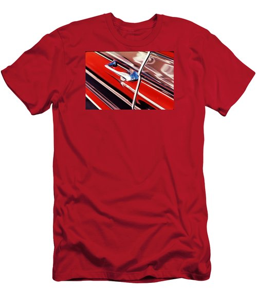 Men's T-Shirt (Slim Fit) featuring the photograph Chevy Or Caddie? by Ira Shander