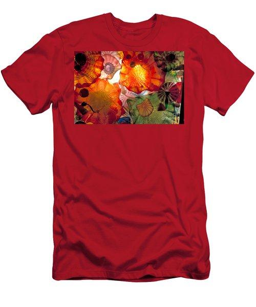 Chihulys Seaform Pavilion At Night Men's T-Shirt (Athletic Fit)