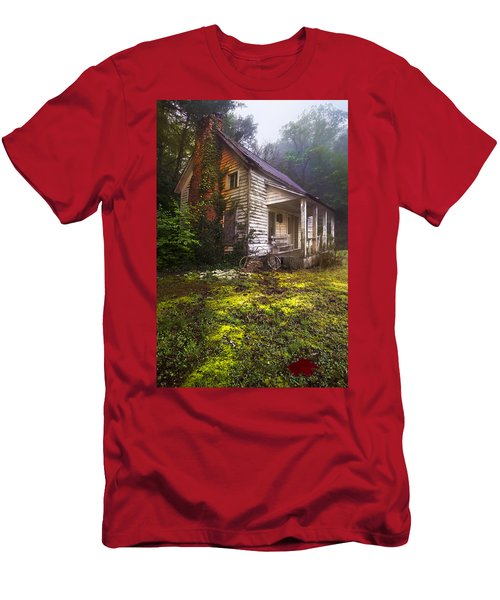 Men's T-Shirt (Athletic Fit) featuring the photograph Childhood Dreams by Debra and Dave Vanderlaan