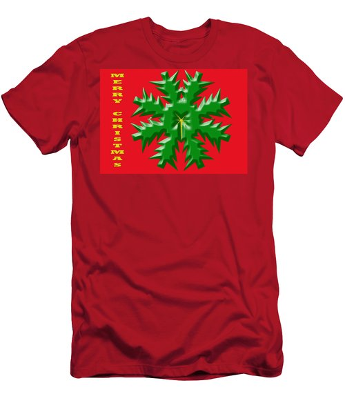 Christmas Card 1 Men's T-Shirt (Athletic Fit)