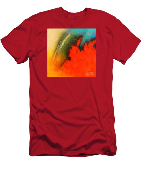 Fantasies In Space Series Painting. Chromatic Vibrations Men's T-Shirt (Athletic Fit)