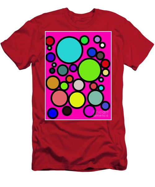 Circles Galore Men's T-Shirt (Athletic Fit)