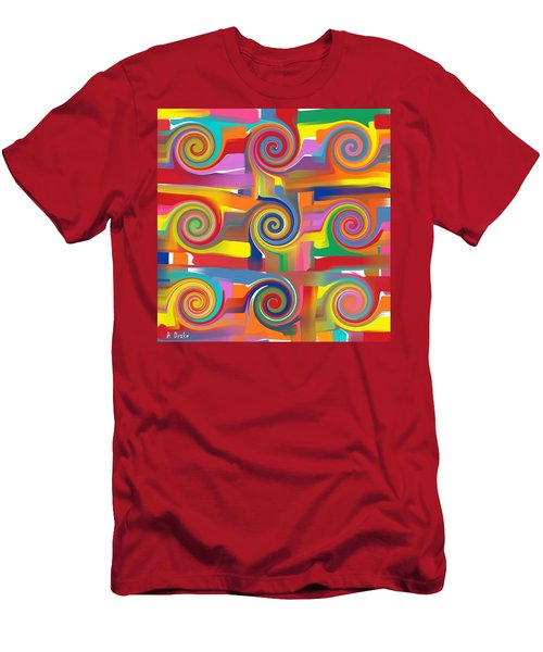 Circles Of Life Men's T-Shirt (Athletic Fit)