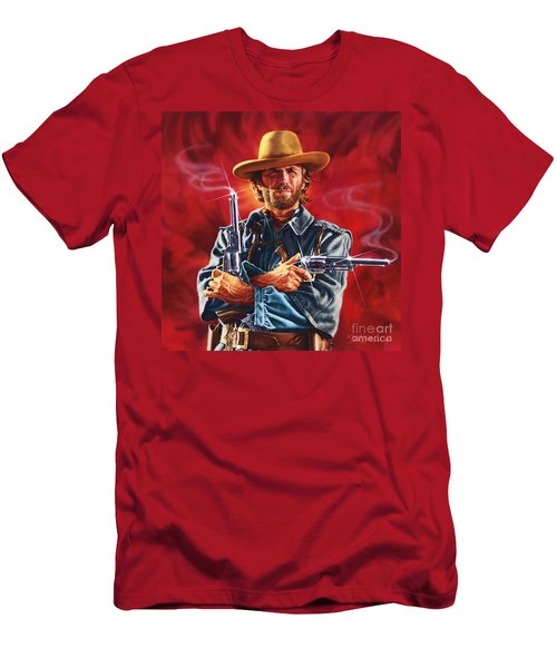 Clint Eastwood Men's T-Shirt (Athletic Fit)