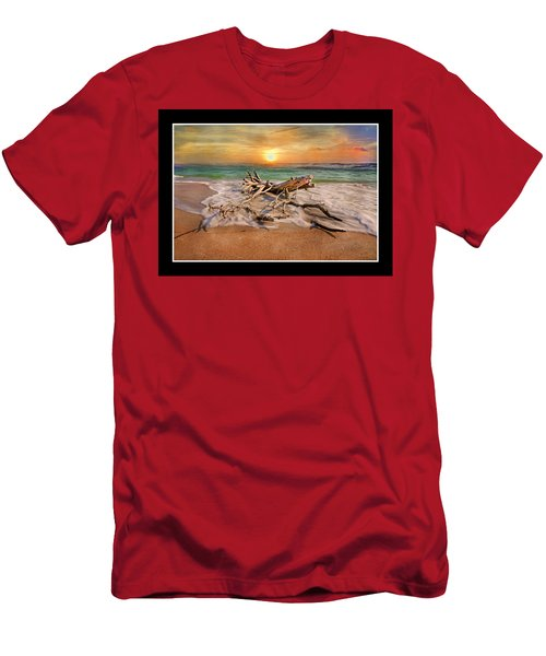 Coastal Morning  Men's T-Shirt (Athletic Fit)