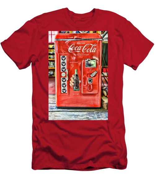 Coca-cola Retro Style Men's T-Shirt (Athletic Fit)