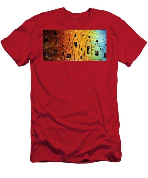 Cocktail Bar Men's T-Shirt (Athletic Fit)
