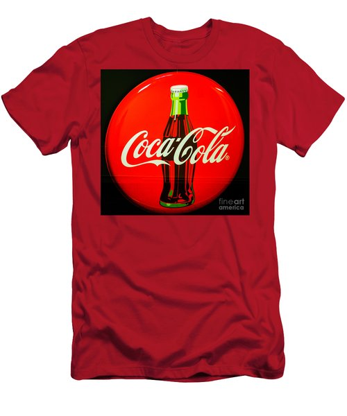 Coke Top Men's T-Shirt (Athletic Fit)