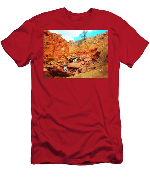 Colored Falls Men's T-Shirt (Athletic Fit)