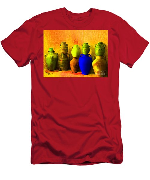 Colorful Pottery Men's T-Shirt (Athletic Fit)