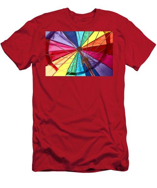 Colors Of Summer Men's T-Shirt (Athletic Fit)