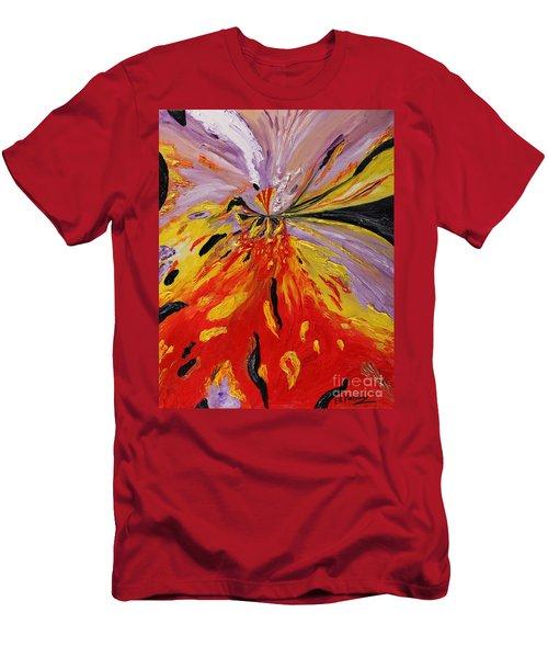 Colourburst Men's T-Shirt (Slim Fit) by Loredana Messina