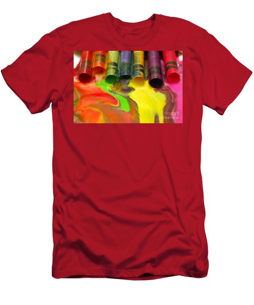 Crayon Cooperation Men's T-Shirt (Athletic Fit)