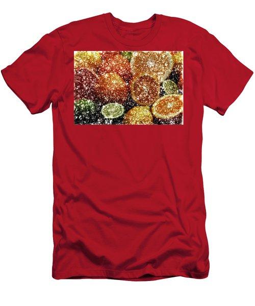 Crystal Grapefruit Men's T-Shirt (Athletic Fit)