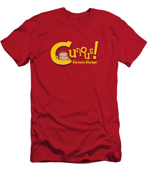 Curious George - Curious Men's T-Shirt (Slim Fit) by Brand A