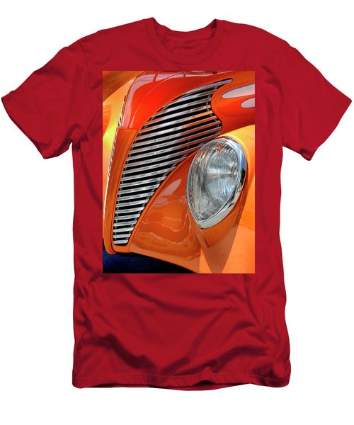 Men's T-Shirt (Slim Fit) featuring the photograph Custom Car Detail by Dave Mills