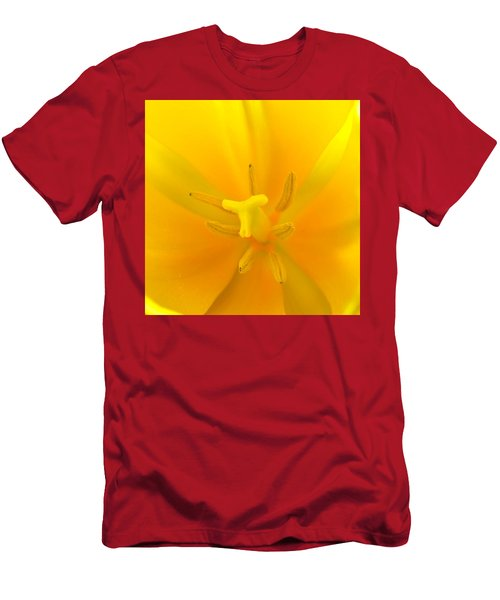 Daffodil Center Men's T-Shirt (Athletic Fit)