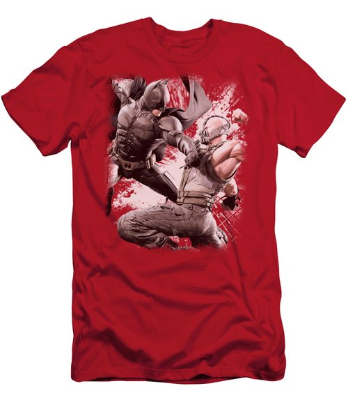 Dark Knight Rises - Final Fight Men's T-Shirt (Athletic Fit)