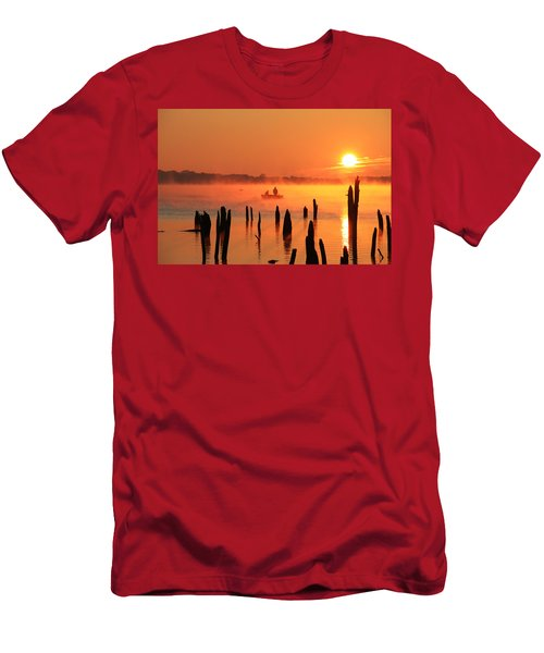 Dawn Fishing Men's T-Shirt (Athletic Fit)