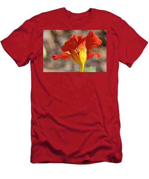Men's T-Shirt (Slim Fit) featuring the photograph Day Time by Larry Bishop