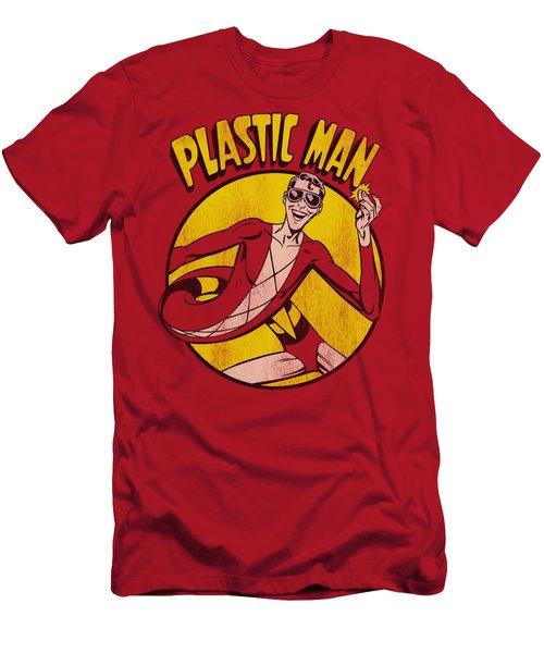 Dc - Plastic Man Men's T-Shirt (Athletic Fit)