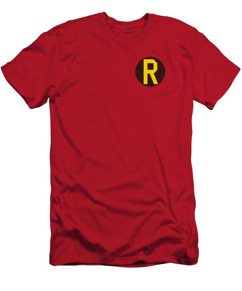 Dc - Robin Logo Men's T-Shirt (Slim Fit) by Brand A