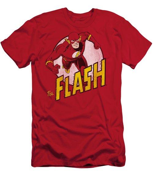 Dc - The Flash Men's T-Shirt (Athletic Fit)