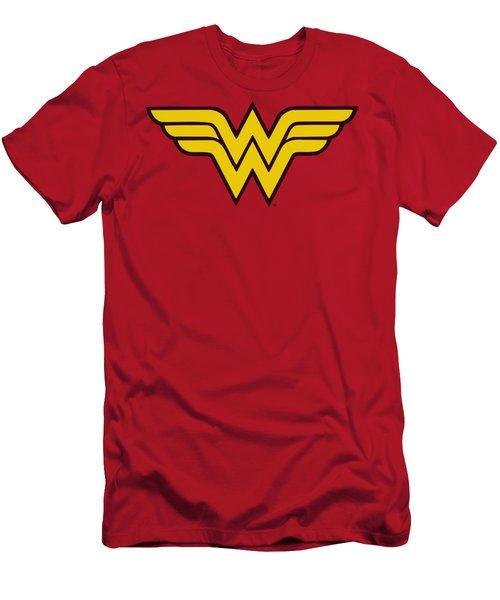 Dc - Wonder Woman Logo Men's T-Shirt (Athletic Fit)