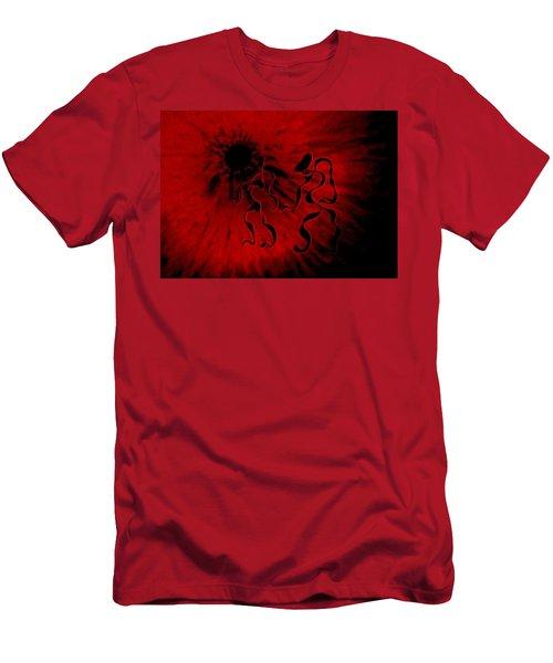Deep Burning Passion Men's T-Shirt (Athletic Fit)