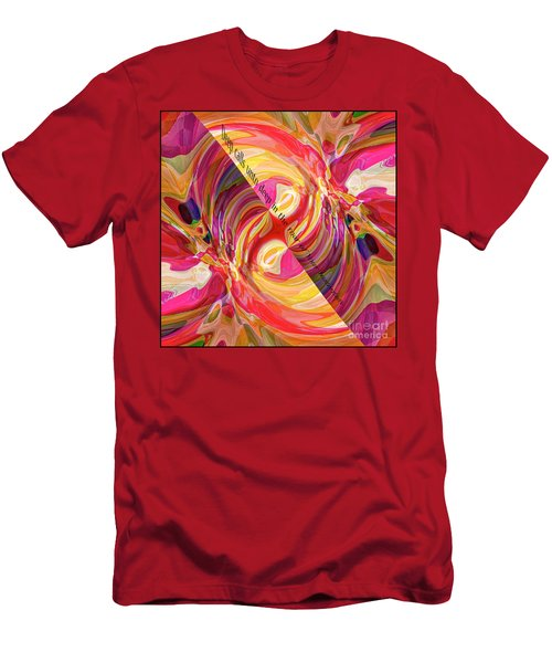 Deep Calls Unto Deep Men's T-Shirt (Slim Fit) by Margie Chapman