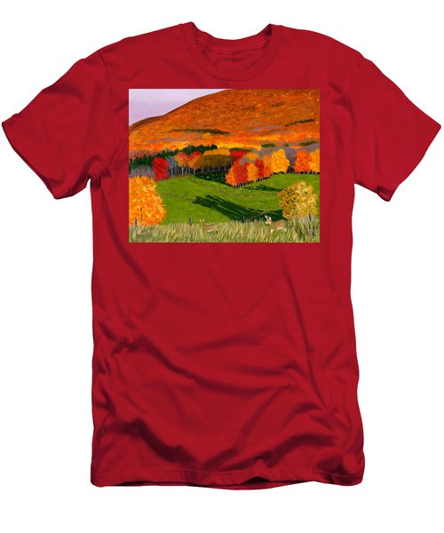 Deer's Eye View Of Bear Meadows Farm Men's T-Shirt (Athletic Fit)