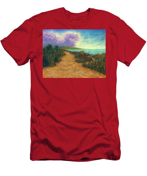 Del Mar Trails 02 Men's T-Shirt (Athletic Fit)