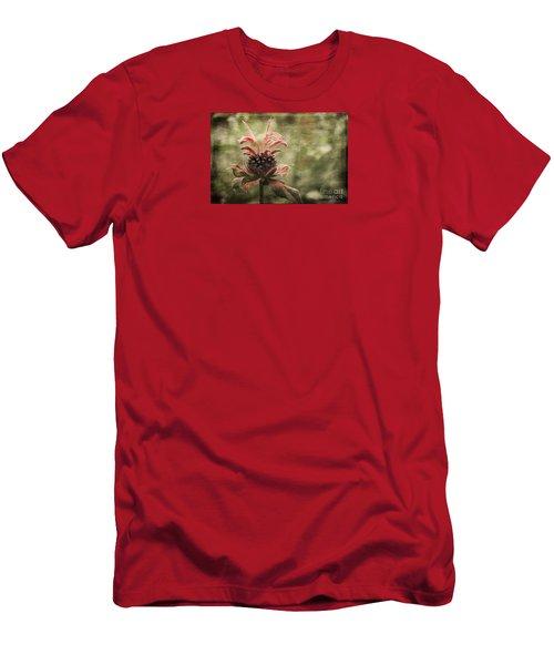 Desert Longing Men's T-Shirt (Slim Fit) by Jean OKeeffe Macro Abundance Art