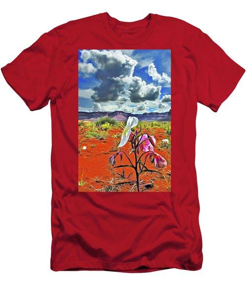 Desert Primrose 3 Men's T-Shirt (Athletic Fit)