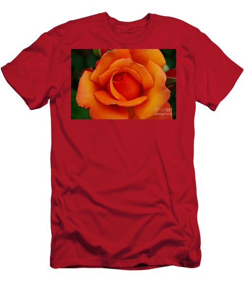 Men's T-Shirt (Slim Fit) featuring the photograph Detail In Orange by John S